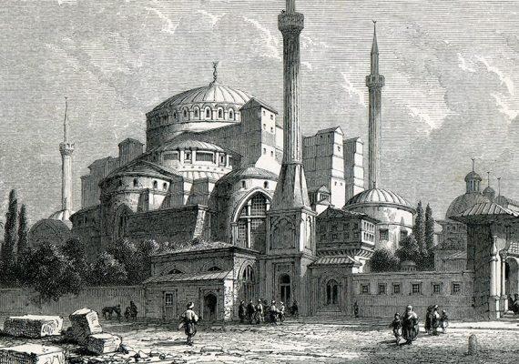Prvostolnica Svete Mudrosti ponovno džamija