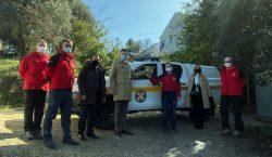 Grad nastavlja osnaživanje žurnih službi – HGSS-u novo vozilo