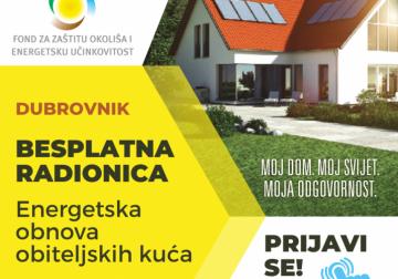 Radionica: energetska obnova kuća