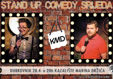 Stand up komedija Studija Smijeha u KMD-u