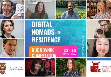 Otvoren poziv za građane za sudjelovanje na radionicama Dubrovnik Digital Nomad-In-Residence