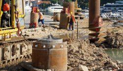 Radovi na Lapadskoj obali premještaju se na krajnji dio obuhvata, kod benzinske postaje INA-e